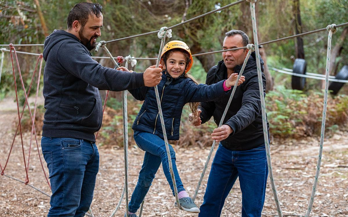 Refugee Dads and Kids Weekend