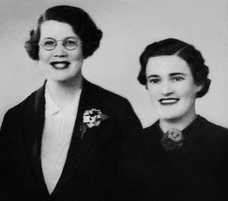 Norma Parker and Connie Moffit